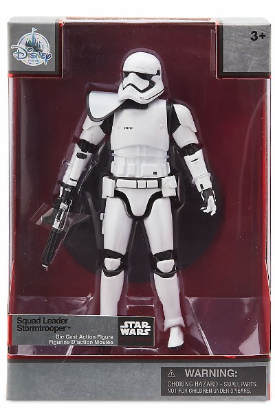 Hasbro Star Wars Elite Series Die Cast Squad Leader Stormtrooper